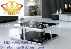 Modern Style Living Room Furniture Stainless Steel Coffee Table pictures & photos