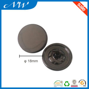 Customized Metal Alloy Press Snap Button Without Logo