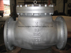 Cast Steel Wcb Flanged Swing Check Valve pictures & photos