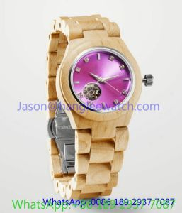 High-Grade Wooden Automatic Watch, Many Color (Ja- 15191) pictures & photos