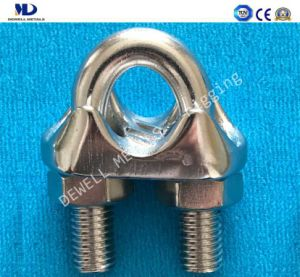 Galv. Cast Iron Wire Rope Clip pictures & photos