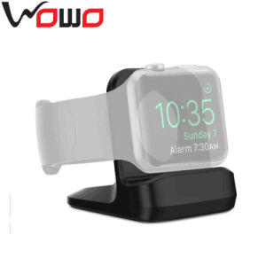New Products Silicone Watch Stand, Mini Size Silicone Watch Stand, Black Silicone Stand for Apple Watch
