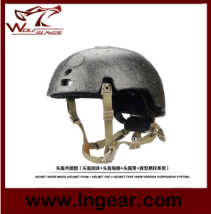 Airsoft Tactical Helmet Fma Suspension System with Helmet Foam Helmet Pad pictures & photos