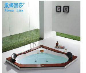 Monalisa 2 Person Hot Tub Massage Bathtub M-2035 pictures & photos