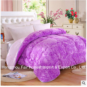 Winter Warm Jacquard Wool Quilt of Factory Wholesale pictures & photos