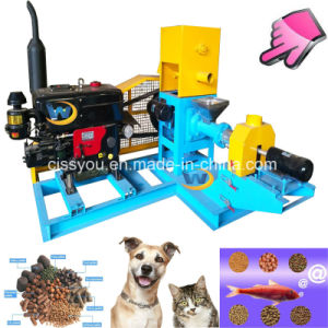 Manufacturer Floating Fish Feed Pellet Extruder Pellet Press Machine pictures & photos