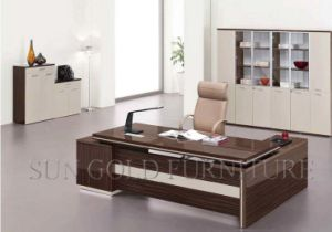 High End Modern Particle Board Desk (SZ-OD180) pictures & photos