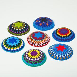 Customized Hand Crochet Kippah, Knitted Kippot Yarmulke, Knitted Kippah pictures & photos