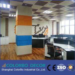 Decorative Wood-Wool Studio Acoustic Panel of Building Material pictures & photos