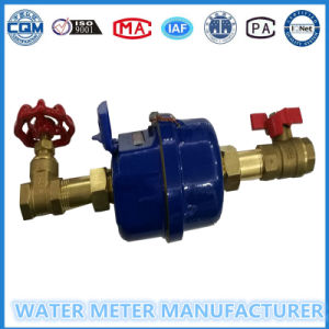 White PVC Ball Valve in 1/2′′-15mm pictures & photos