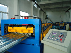 Ce Steel Floor Deck Roll Forming Machine pictures & photos