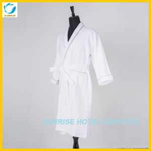 Comfortable Cotton Bathrobe for Hotel pictures & photos