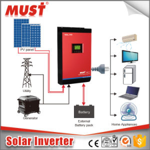 PV1800 3kVA Pure Sine Wave Solar Power Inverter Home Use pictures & photos