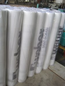 Fiberglass Mesh Fabric with Logo Printing, Fiberglass Plaster Netting pictures & photos