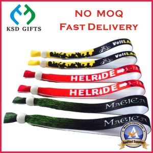Customized Plaque Your Own Design Fabric Band for Promotion pictures & photos