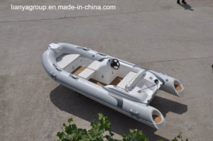 Liya 4.3m Rigid Inflatable Boat with Outboard Motor Patrol Boat pictures & photos