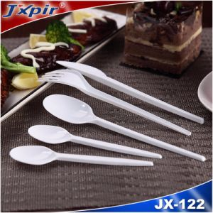 100% New Resin PS Cutlery Set Jx122 pictures & photos