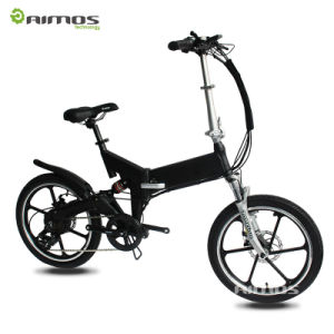 New Electric Bicycle! Li-ion Battery Quick Folding Portable E-Bike pictures & photos