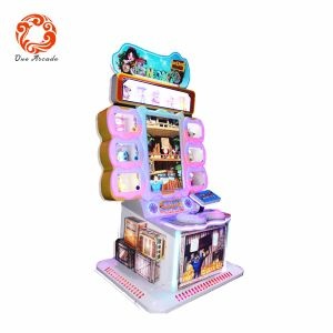 2017 Latest Kids Shooting Coin Operated Game Dozen Devil Game Machine pictures & photos