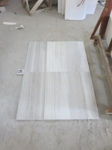 Polished White Wood Grainy Marble for Floor&Wall Tiles pictures & photos
