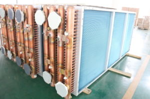 7mm Riffled Copper Tube Copper Fin Condenser pictures & photos