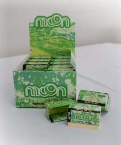 2in1 OEM King Size Slim Natural Arabic Gum Filter Rolling Paper pictures & photos