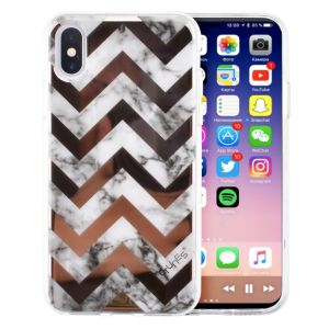 for iPhone X Shockproof Case, IMD Printed Case Slim Clear Hard Back Cover Soft Flexible TPU Bumper Case Protective Cover for Apple iPhone X pictures & photos