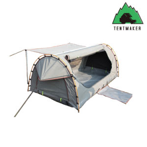 Outdoor Camping Tent Waterproof Canvas Fabric Swag Tent Sherpa Tent and Swag pictures & photos