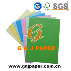 Colour Coated Packaging Cardboard Paper with 100% Wood Pulp pictures & photos
