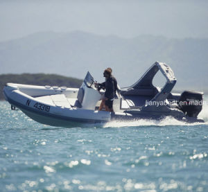 Liya 22 Feet PVC Boats Inflatable Outboard Boat pictures & photos