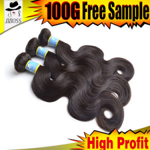 10A Remy Brazilian Grey Human Hair for Braiding pictures & photos