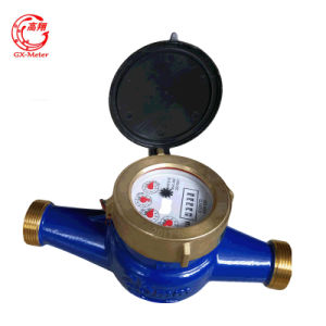 Class B Brass Dry Dial Multi Jet Water Meter (DN15-DN40) pictures & photos