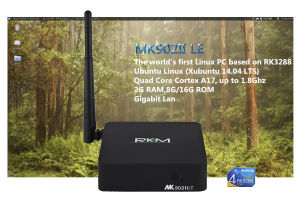 Quad Core Rk3288 Mini Linux TV Box with Gigabit LAN pictures & photos