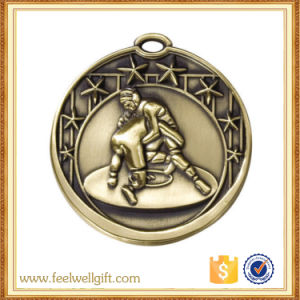 High Quality Factory Price Custom Wrestling Medallions pictures & photos