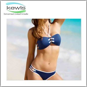 Hot Sale Fashion Sexy Gradient Swimsuit for Ladies pictures & photos