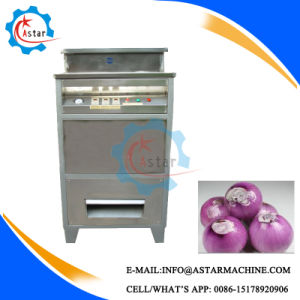 Stainless Steel Onion Peeler Peeling and Root Cutting Machine pictures & photos