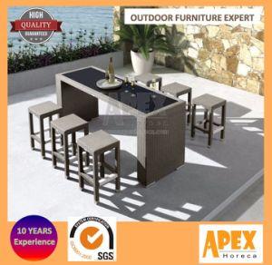 Garden Outdoor Furniture Rattan Bar Dining Set pictures & photos