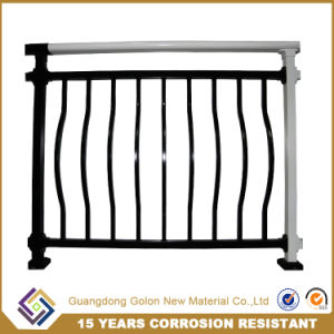 Not Welded Easy Assembled Balcony Fence pictures & photos