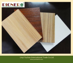 High Quality Full Hardwood Core Melamine Plywood with E0 Glue pictures & photos