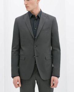 3 Pieces Classic Men′s Business Grey Suit pictures & photos