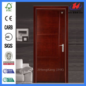 Solid Wood Hardware Sliding Melamine Door (JHK-MD05) pictures & photos