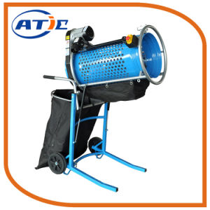 Vibrating Sieve Shaker Machine Portable Rotary Sieve for Soil and Compost pictures & photos
