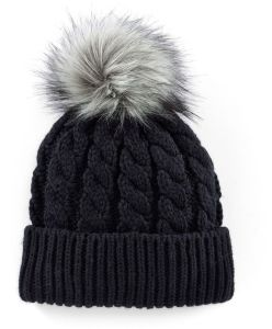 Beanie Hat with Fur POM Ball on Top pictures & photos