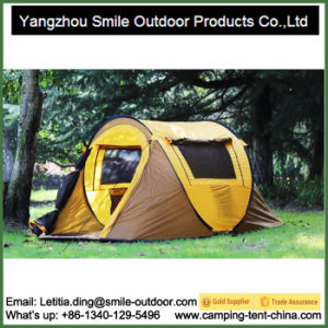 2 Person Waterproof Glamping Folding Camping Military Pop up Tent pictures & photos