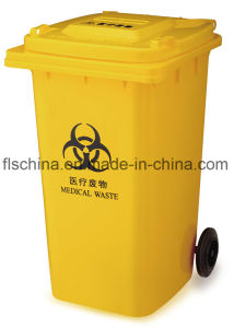 240L Outdoor Plastic Dust Bin with Good Quality (FLS-240L/HDPE/EN840) pictures & photos