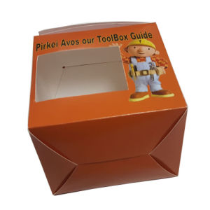 Glossy Printing Easy Taken Cake Box pictures & photos