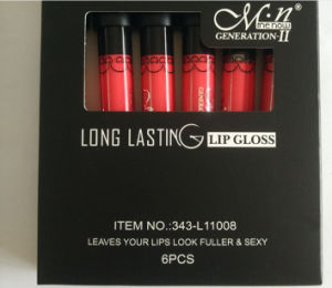 Menow Long Lasting Lip Gloss Leaves Your Lips Look Fuller Sexy 38 Color pictures & photos