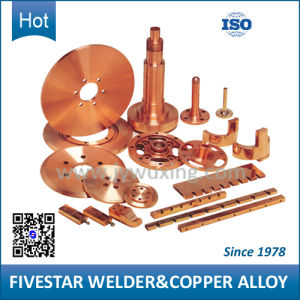 Beryllium and Chromium Zirconium Copper Alloy Welding Parts pictures & photos