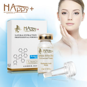 Natural Face Moisturizing Happy+ Hyaluronic Acid Serum Skin Care Product pictures & photos