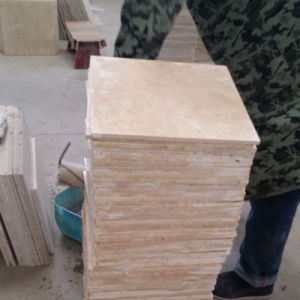 Hot Selling Cream Limestone Swimming Pool Tiles with Good Prices pictures & photos